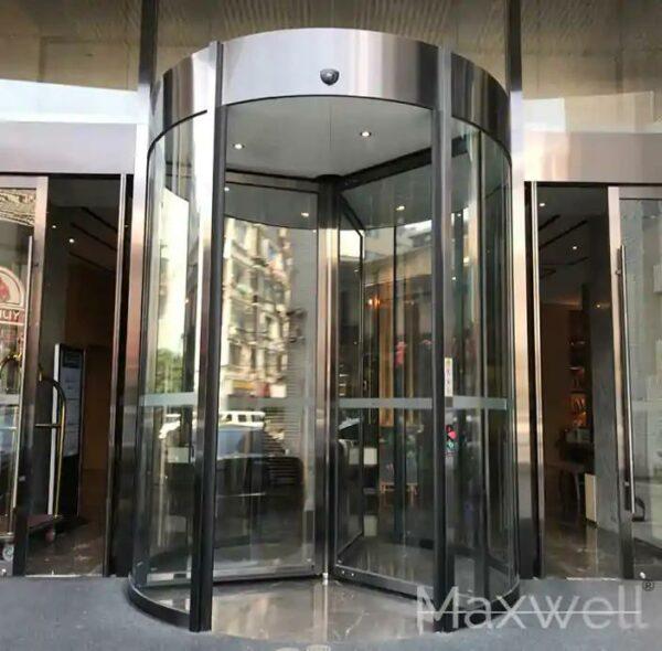 entrance automatic revolving doors