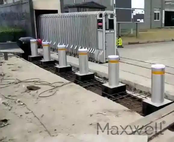 Automatic Bollards Work