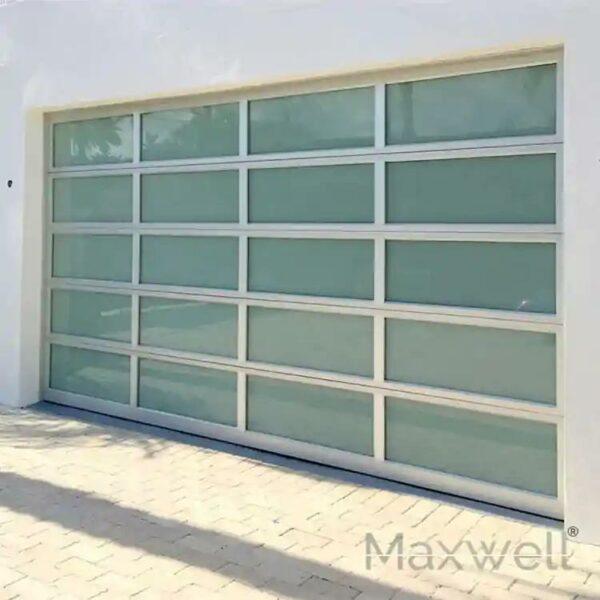 Garage Door Glass Villa