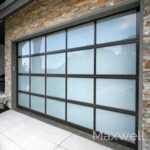 Garage Electric Glass Doors