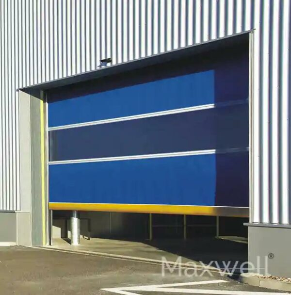 High Speed Door Opening with remote
