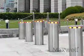 Security Automatic Electric Bollard Posts